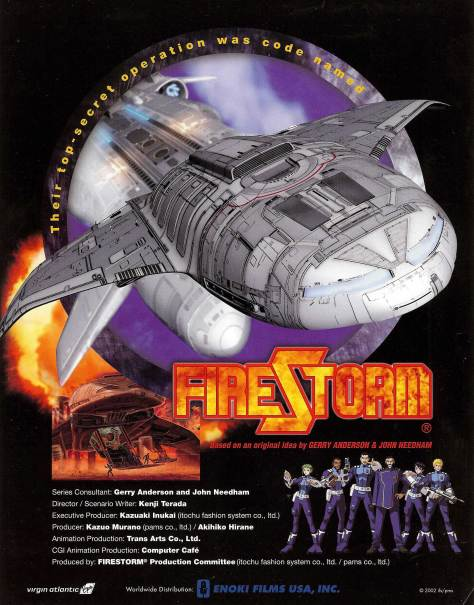 Japanese Firestorm flyer