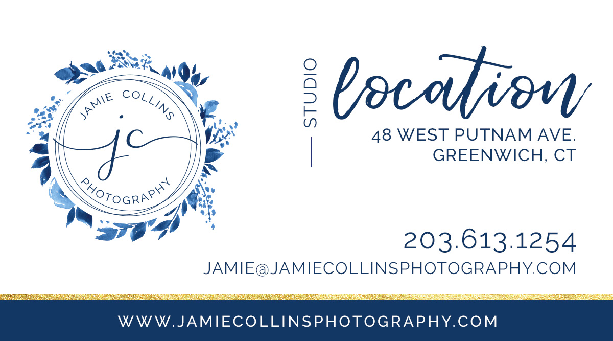 Jamie Collins Photography Studio located in Greenwich, CT