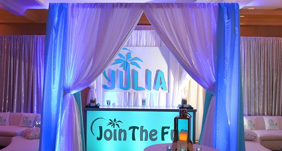 Julia | Custom Designed Bat Mitzvah Album