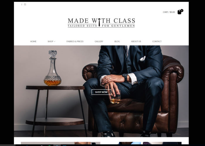 Made With Class Custom Suits