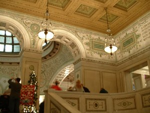Christmas at the Chicago Cultural Center