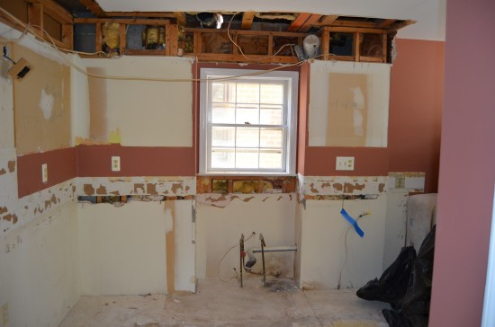 Kitchen Remodel North, Day 1
