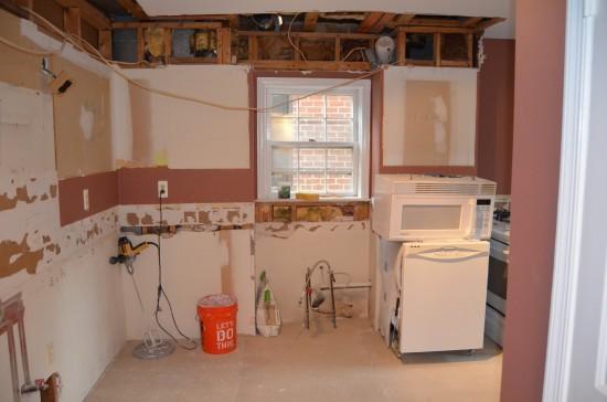 Kitchen Remodel North, Day 2
