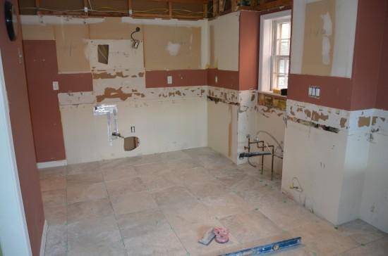 Kitchen Remodel West 1, Day 4