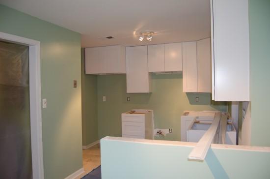 Kitchen Remodel Day 17, West