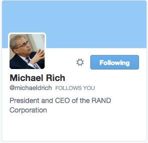 Michael Rich on Twitter