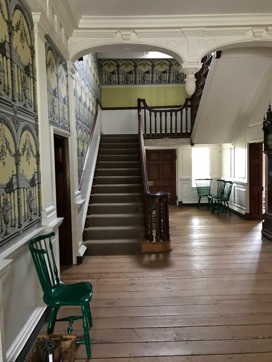 Main Hallway at Gunston Hall