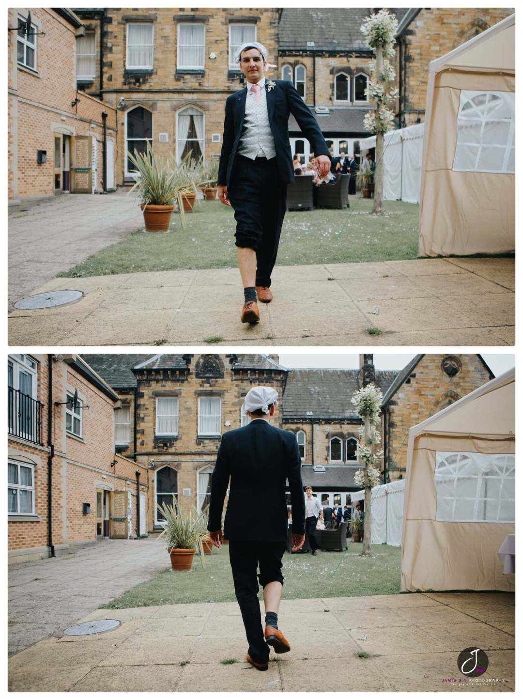 Fun wedding imagery Yorkshire Wedding Photographer Jamie Sia Photography