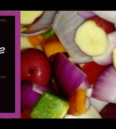 Grilled Potato-Veggie Pouches