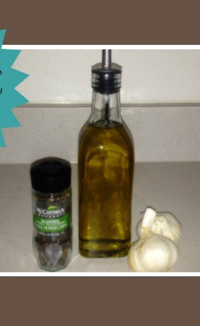 Peppercorn Roasted Garlic Olive Oil