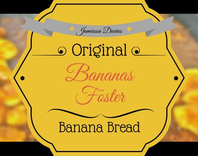 Bananas Foster Banana Bread