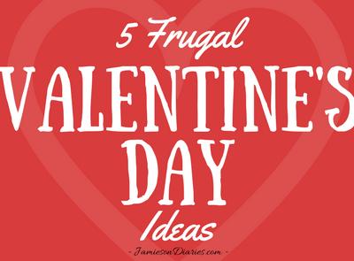 5 Frugal Valentine's Day Ideas