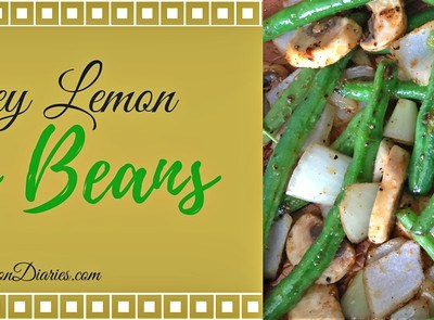 Honey Lemon Green Beans