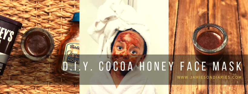 cocoa honey face mask
