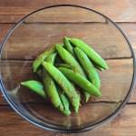 sweet chili snap peas