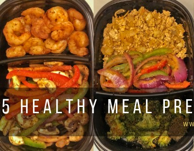 5 Healthy Meal Prep Recipes