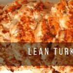 lean turkey burgers