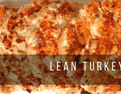 Lean Turkey Burgers