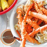 crab boil & garlic butter sauce