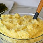 Garlic Butter Mashed Potatoes