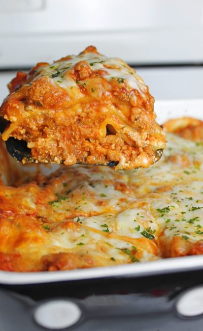 5 Cheese & Meat Lasagna