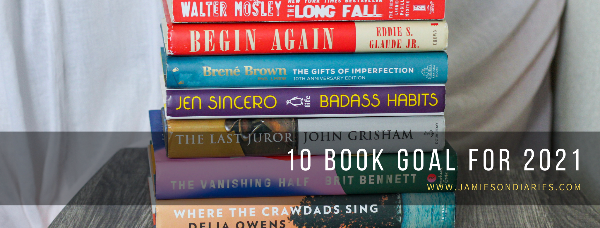 10 book goal for 2021