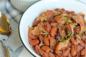 Crockpot Smoked Red Beans