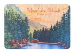 Palmer Lake Reservoir: Buy a Wood Magnet & Plant a Tree - Jamie Wilke Fine Art