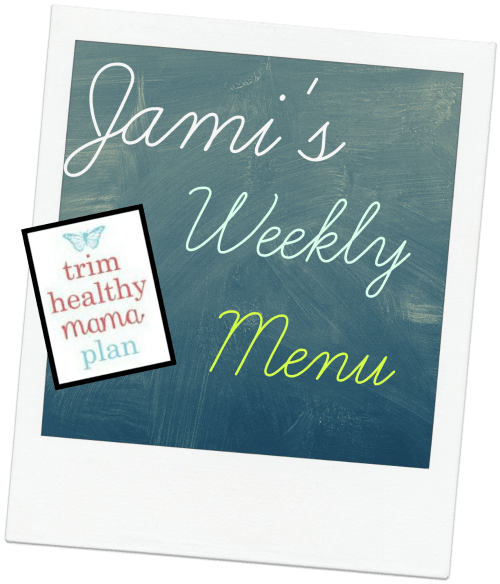 Menu for December Week 1 - Incorporating Deep S Meals