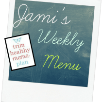Trim Healthy Mama Plan Weekly Meals
