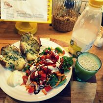 JamJarGill: Meatless Monday {1 year 10 weeks}: Dinner