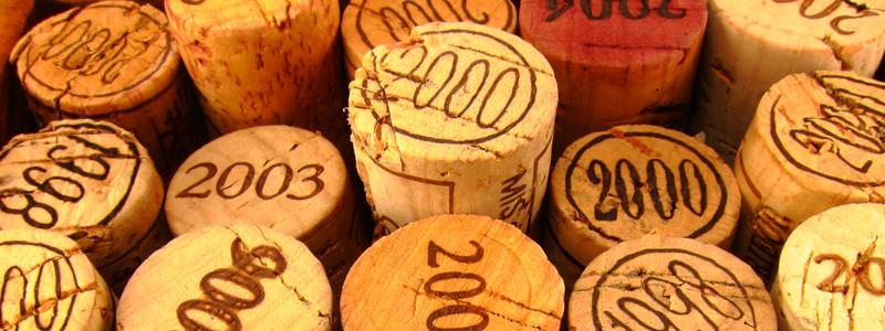 Burgundy Vintage Chart