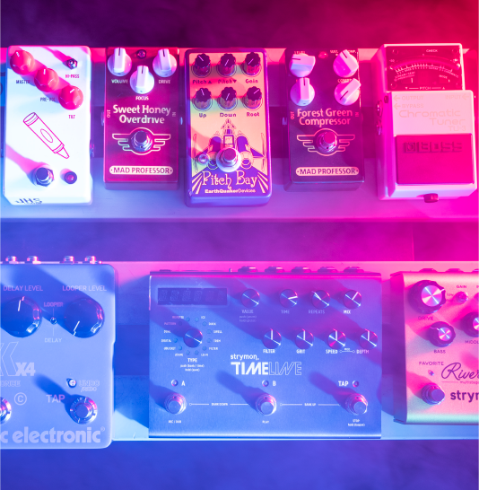 Premium Pedals and Music Accessories Backline in Reno, NV - JamPro Music Factory