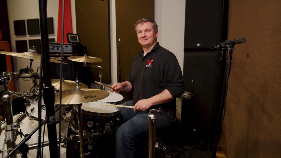 On-site and online drum lessons at JamPro Music Factory Reno, NV