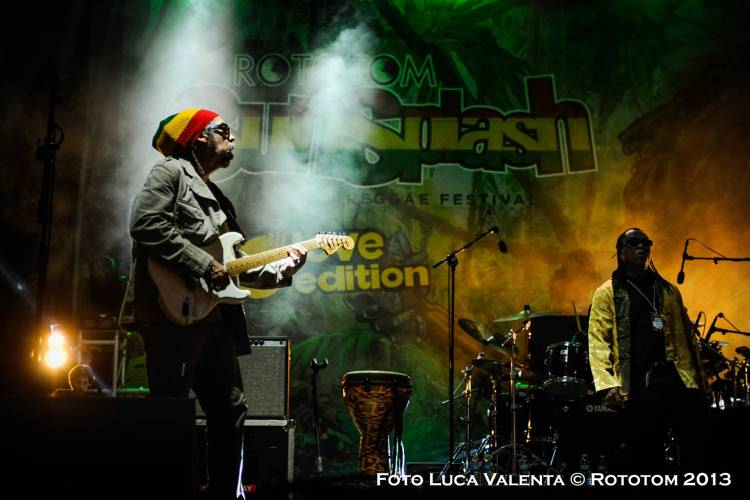 Third World brings the heat at Rototom Festival in Benicassim