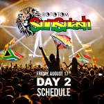 Rototom Sunsplash 2018 Day 2 - Schedule