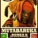 Apr. 30th, 2020 - Mutabaruka @ New Morning