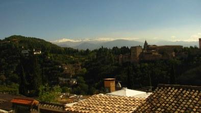 Alhambra uitzicht