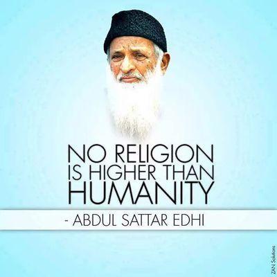 Abdul Sattar Eddhi 7/8/2016