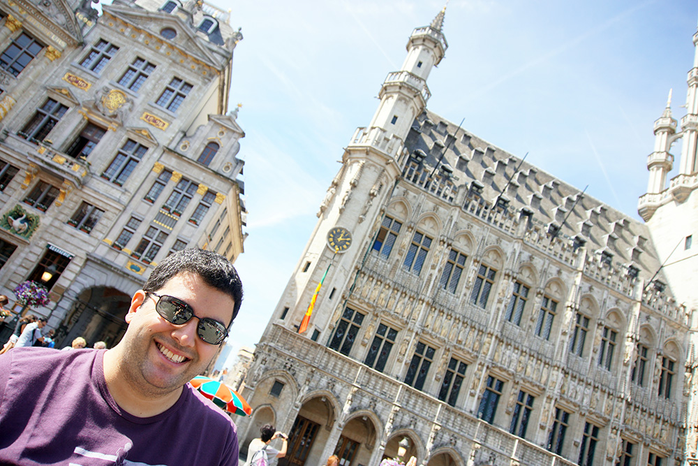 Marcos na Grand Place