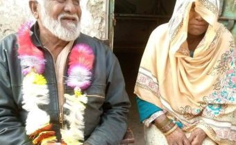 80-Year-Old Man Ties The Knot With 75-Year-Old Childhood Lover In Kasur