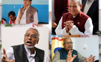 Four senior party leaders expelled