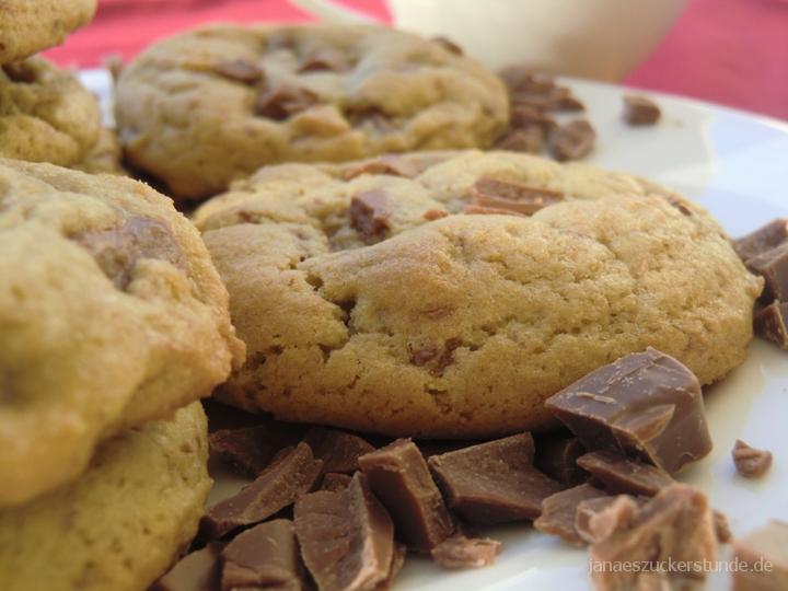 Original amerikanische Chocolate Chip Cookies