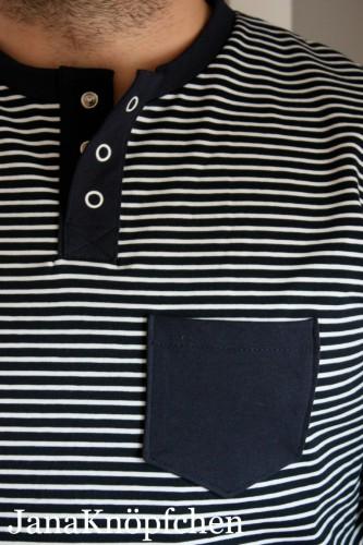 Das erste selbstgenähte Langarmshirt für Männer von JanaKnöpfchen - Nähen für Jungs