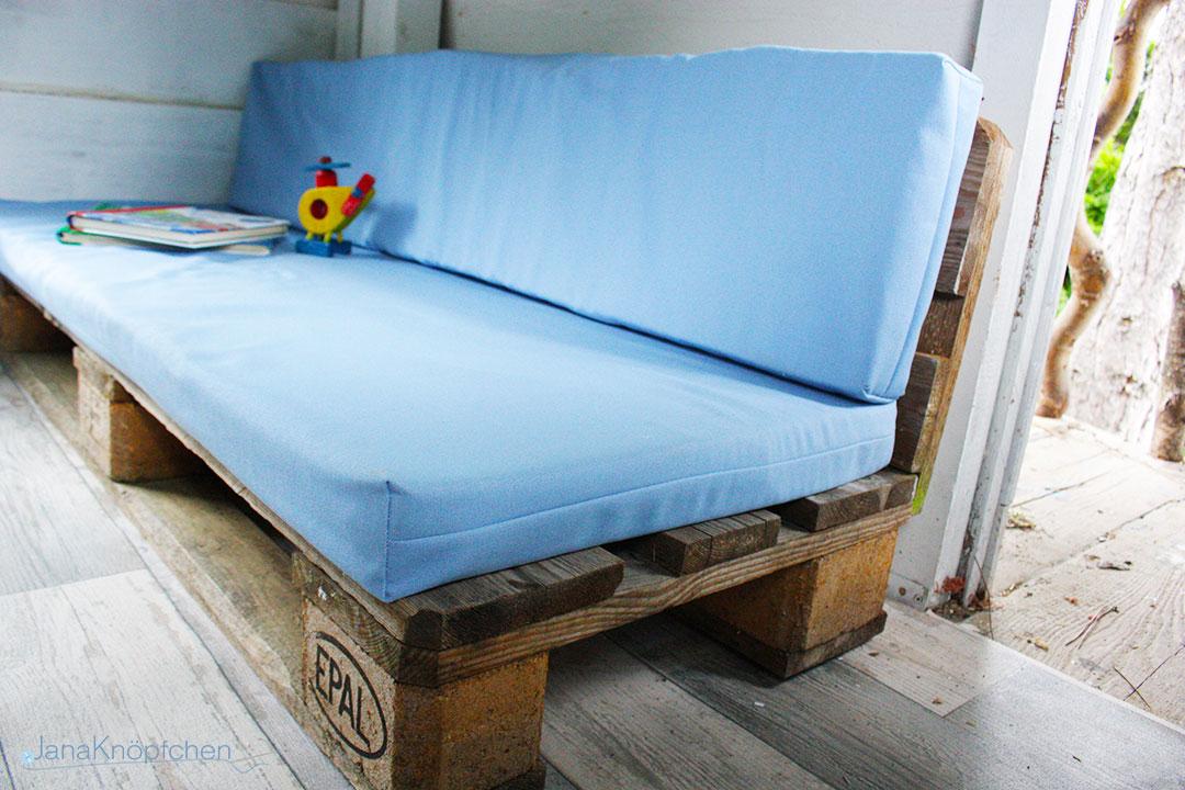 sitzauflagen f r die palettencouch des baumhauses. Black Bedroom Furniture Sets. Home Design Ideas