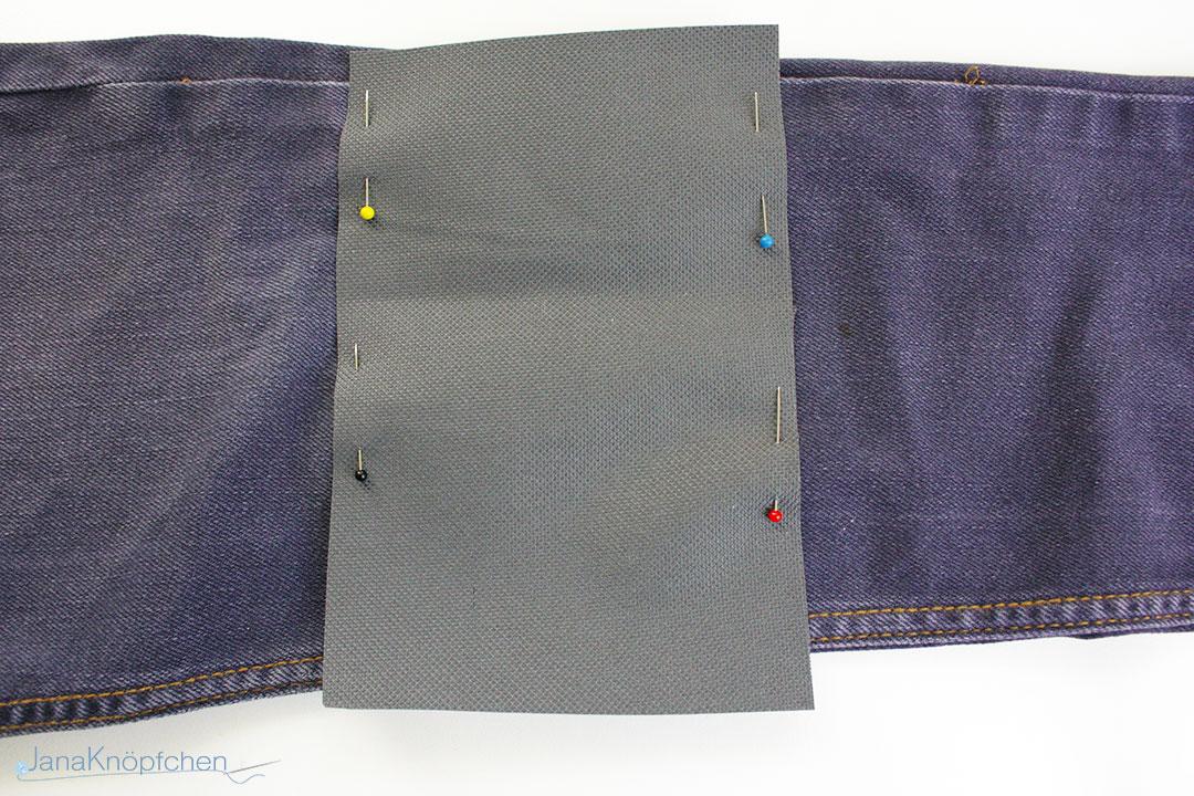 Tutorial: Jeans flicken Teil 2 Wie flicken ich eine Jeans