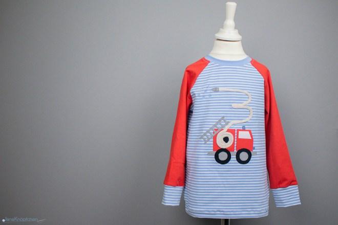 Blogpost Feuerwehr-Geburtstagsshirt für kleine Feuerwehrfans zum Geburtstag. JanaKnöpfchen - Nähen für Jungs