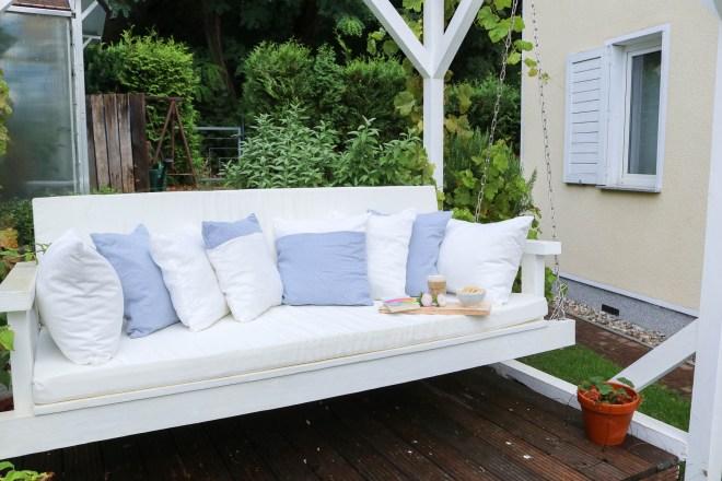 Sitzkissen für Gartenschaukel nähen. JanaKnöpfchen - Nähen für Jungs
