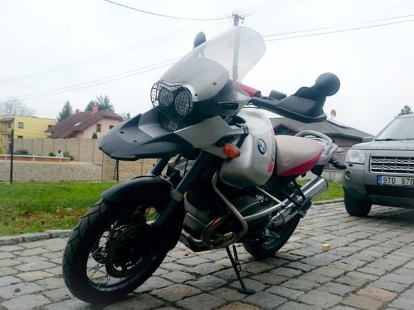 BMW R1150 GS ADVENTURE ČERNÁ