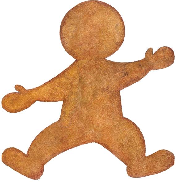 Trim A Home 7 Gingerbread Man Airn Decoration